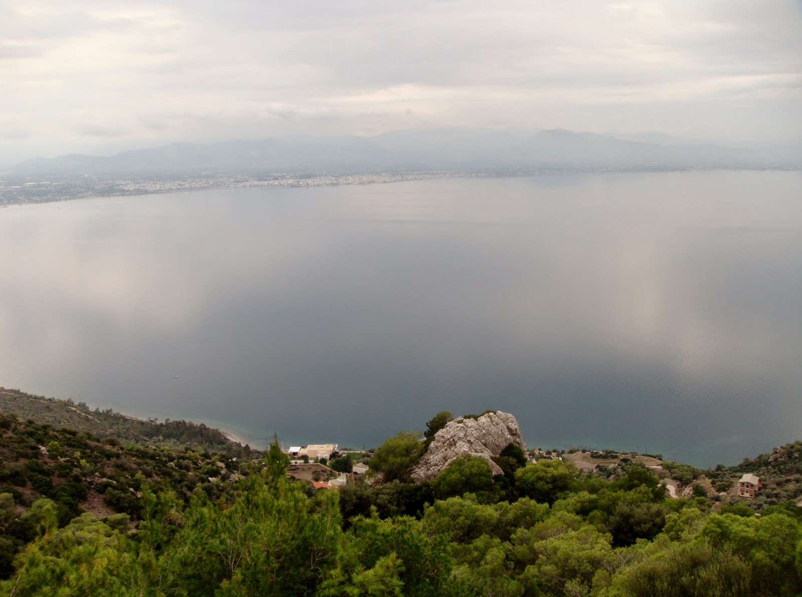 Korinthian Gulf, seen from Loutraki