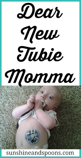 Dear New Tubie Momma