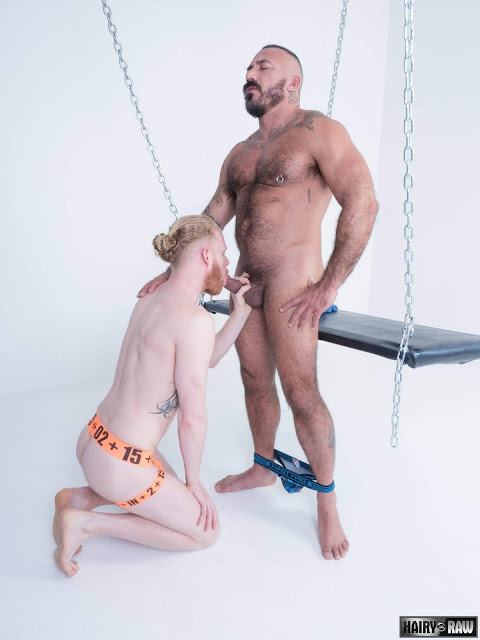 Hairy and Raw - Alessio Romero and Cooper Roads