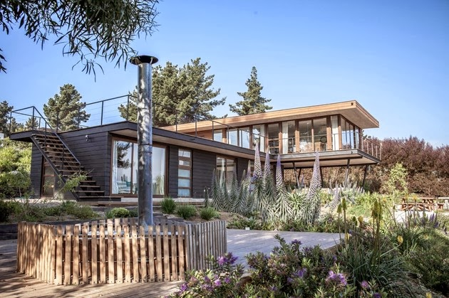 Desain Rumah Kontemporer Sederhana Dengan 2 Lantai