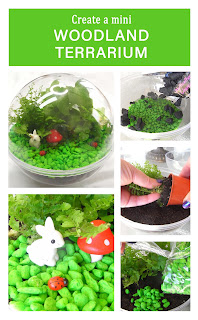 Upcycle a Lindt Maxi Ball into an adorable woodland-themed terrarium. Or, let the kids personalise it by adding dinosaurs or fairies.