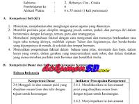 Contoh RPP Kurikulum 2013 Revisi Terbaru 2017