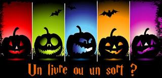 Halloween livres un livre ou un sort album enfants citrouille peur