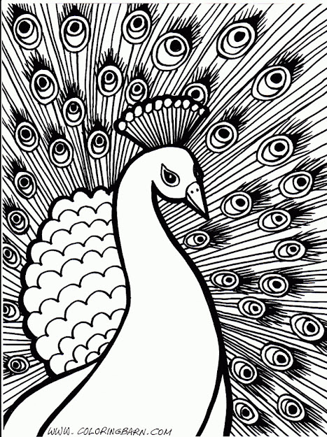 Hard Coloring Pages Coloringpages
