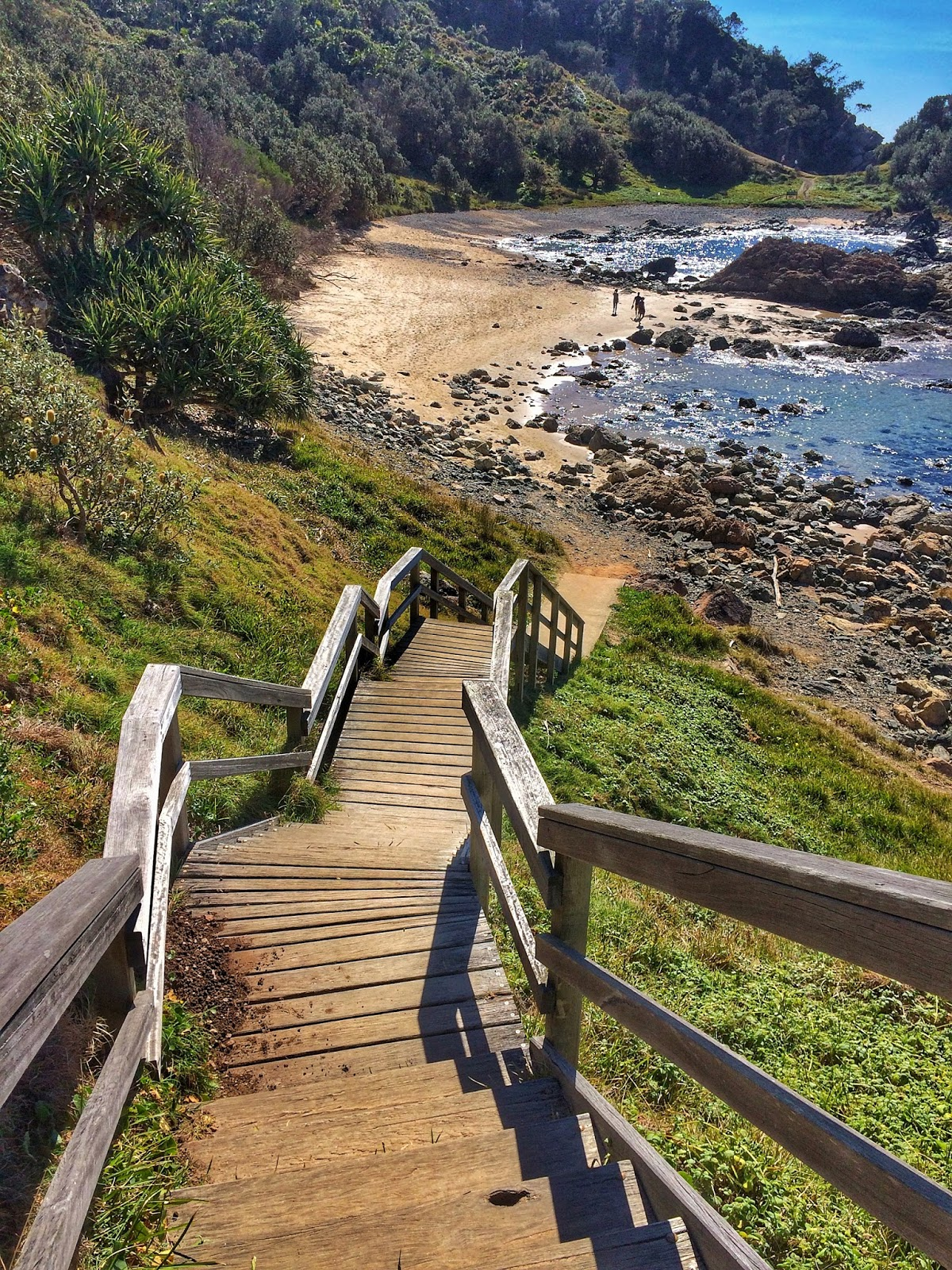 Stairs to Little Bay Port Macquarie
