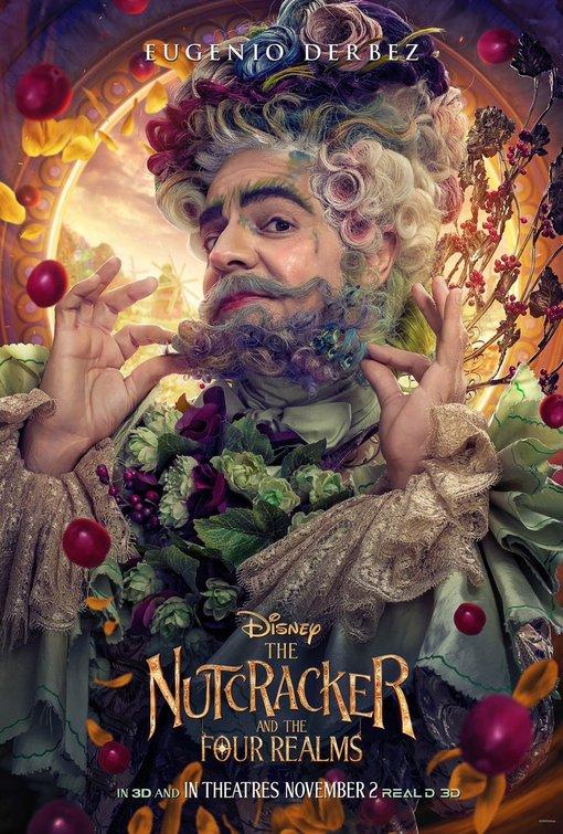 Nutcracker Four Realms Hawthorn poster