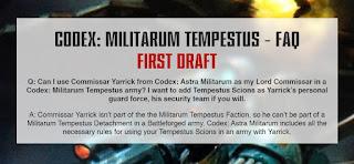 Fuerzas de élite del Astra Militarum