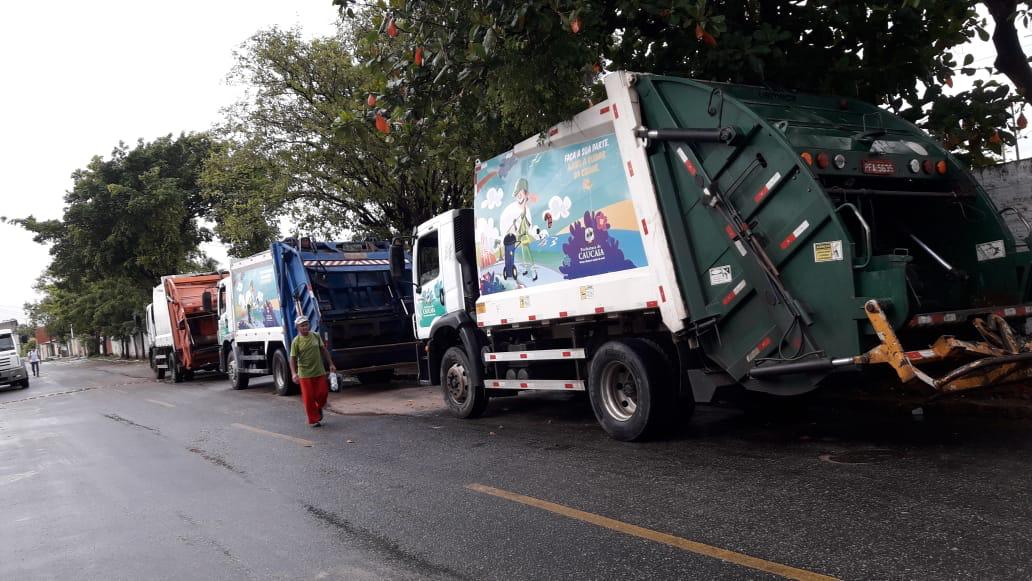 13 mil toneladas de lixo são recolhidas por mês em Caucaia 2be5e7575575e