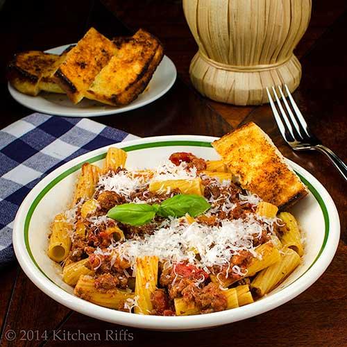 Italian Meat Sauce for pasta
