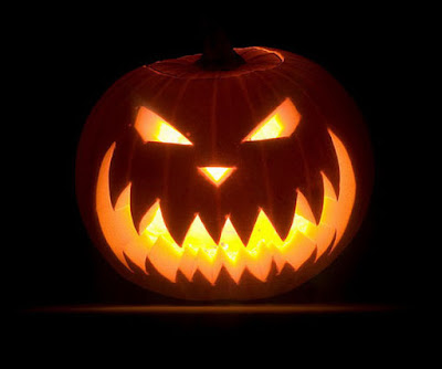 Scary Halloween Pumpkin Design