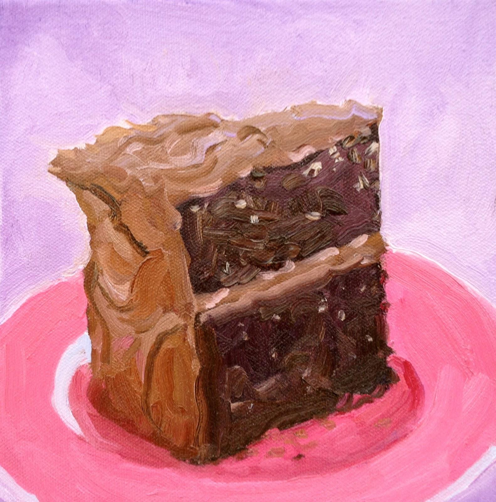 Nancy Colella Simply Painting Dessert Paintings