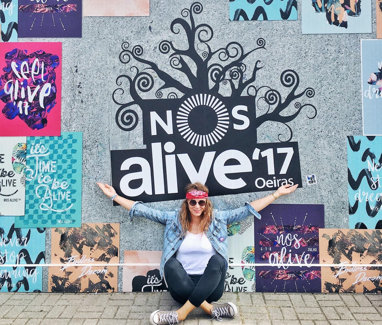 nos alive v Lisabonu, festival, ejnets