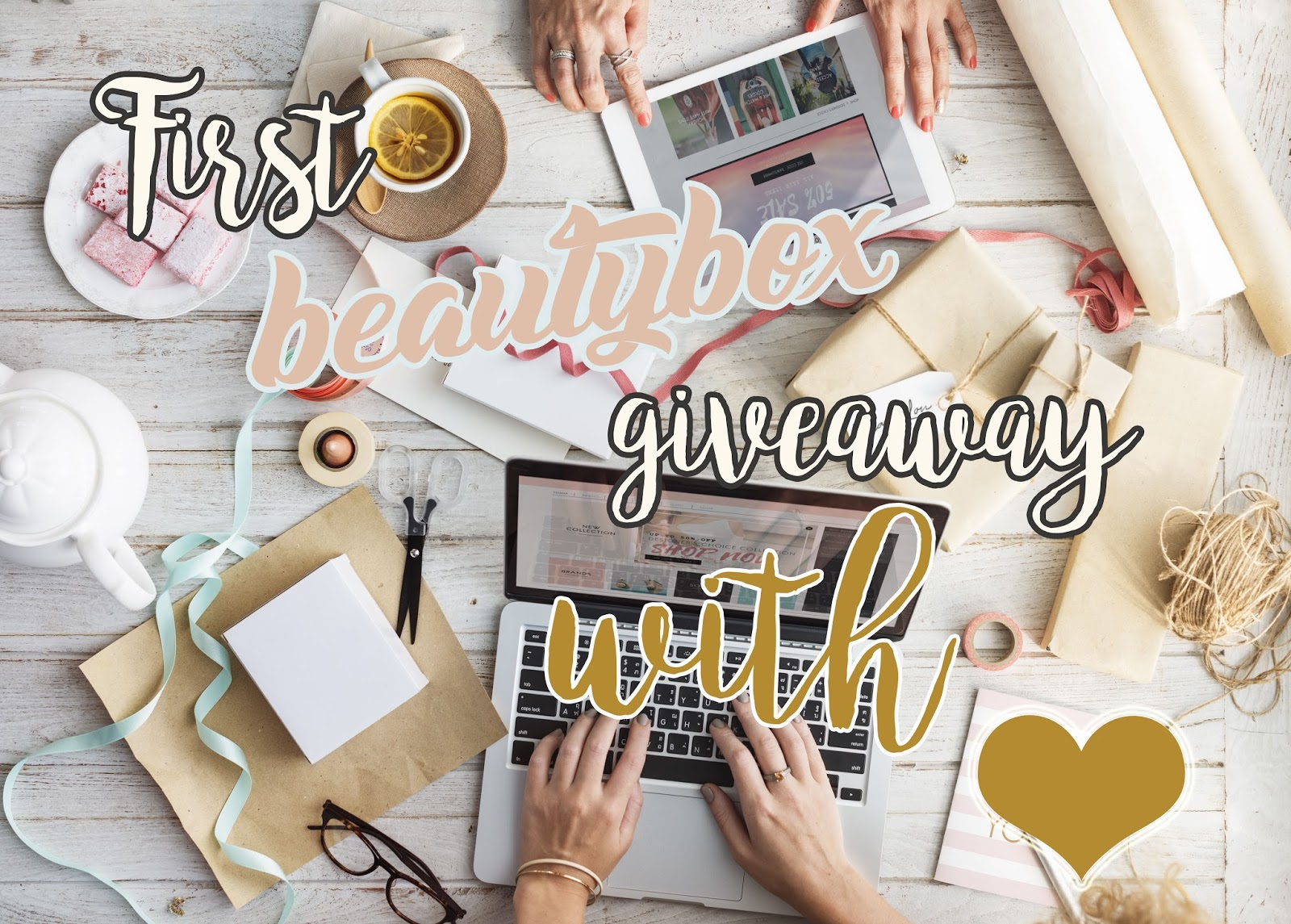 First Beauty Box Giveaway by Us with Love ❤