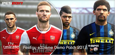 PES 2017 PesEgy Extreme Demo Patch V1