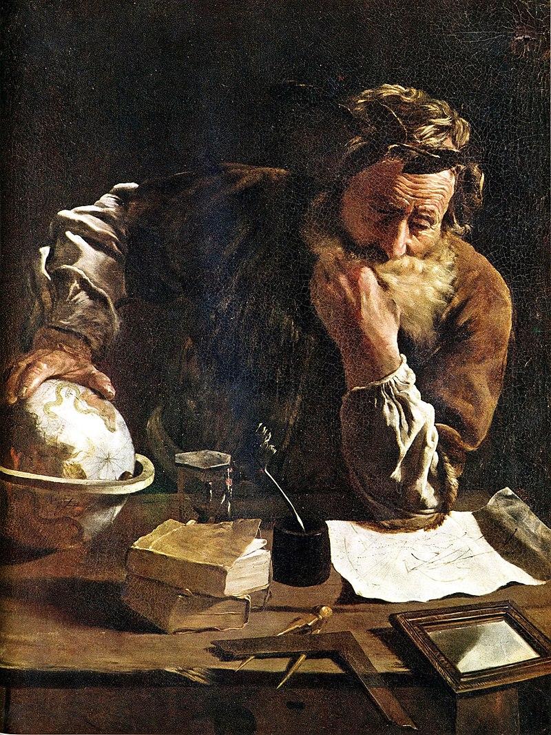 Arquimedes | pintura de Domenico Fetti