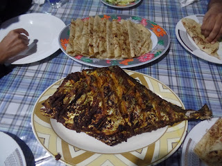 Sea Fish BBQ at St. Martin's Island