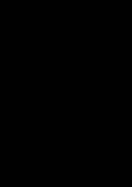 Partitura de El Danubio Azul para Clarinete de Johann Strauss. Clarinet Sheet Music Classical music. Para tocar con tu instrumento y la música original de la canción