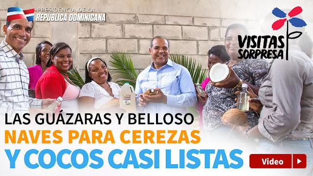 VIDEO: Las Guázaras y Belloso. Naves para cerezas y cocos casi listas
