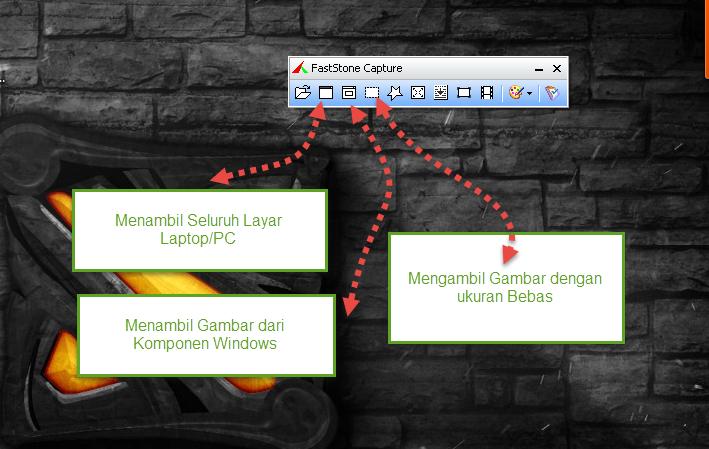 Cara mengambil Gambar dari Layar Komputer, Laptop dan Browser dengan Mudah Menggunakan Fastone Capture