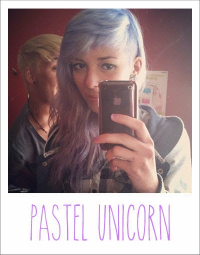 casting, cheveux blanc, colorant espresso, enjoyk, fashion week, hairstyle, instagram, kelly pelotte, pastel, pastel hair, pink hair, pop color purple hairgum, purple hair, stargazer, tumblr, twitter,