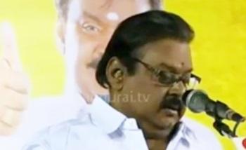 Vijayakanth speech at election campaign at Kangeyam, Tiruppur District