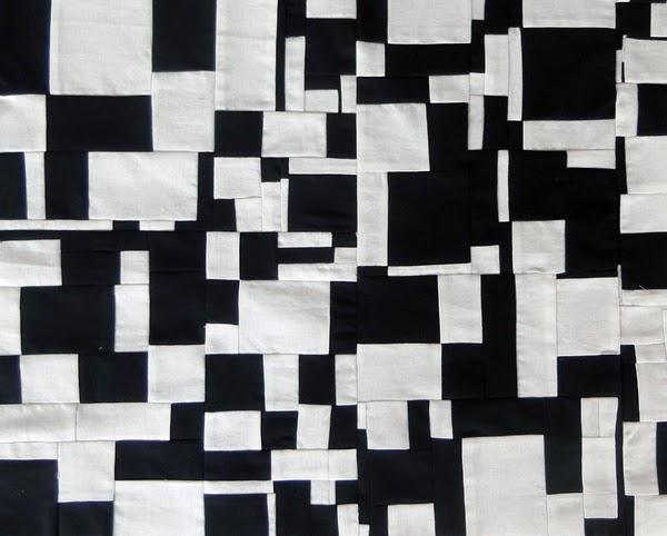 ασπρόμαυρο patchwork.