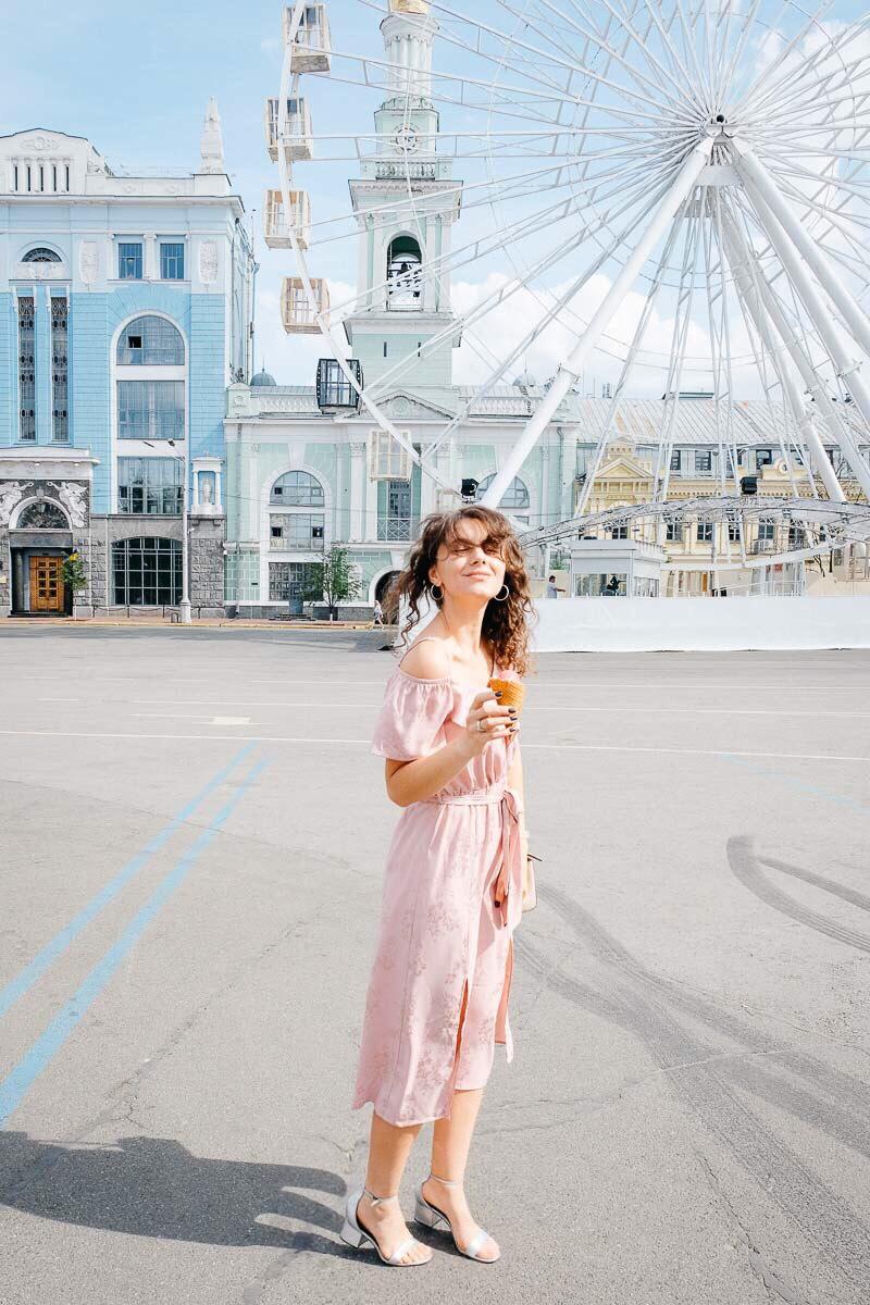 шелковое платье носить летом