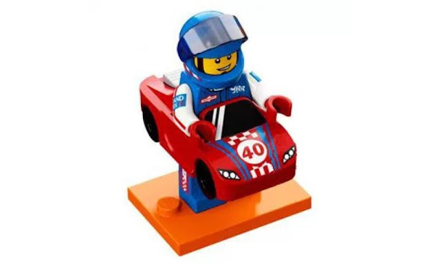 Lego Collectible Minifigures Series 18: Race Car Suit Character