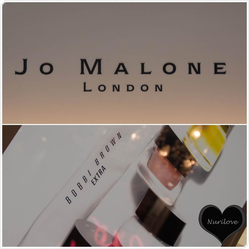 Dos grandes inauguraciones en Bilbao Jo Malone y Bobbi Brown