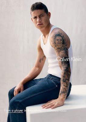 James Rodriguez | 2016 Calvin Klein Campaign