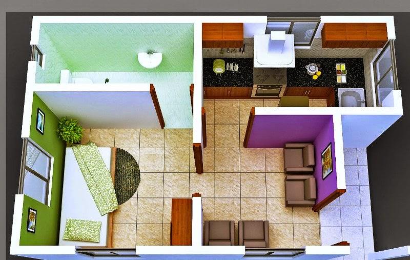Gambar Rumah Minimalis Sederhana Kecil Desain Interior