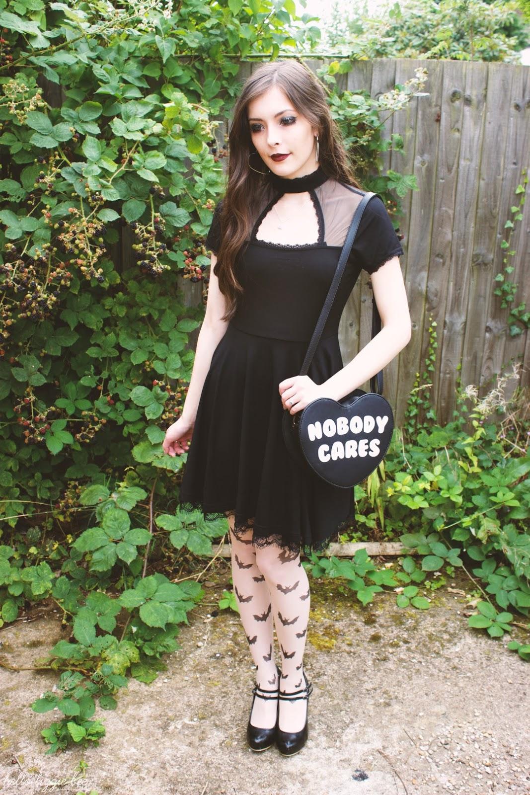 nu goth, alternative girl