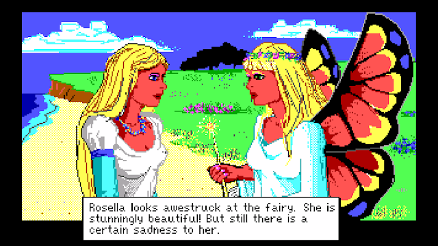 Screenshot from King's Quest IV