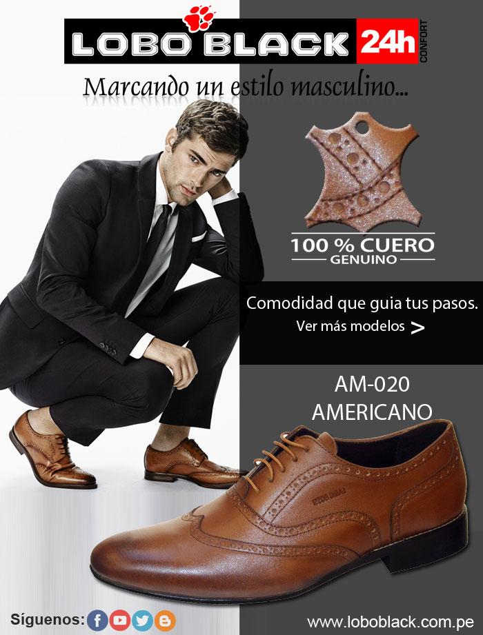 Fábricas de calzado en Arequipa Lobo Black