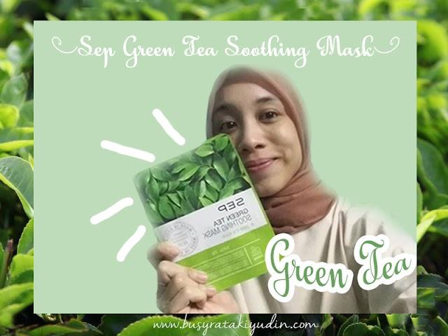 BEAUTY REVIEW | SEP GREEN TEA JEJU MASK