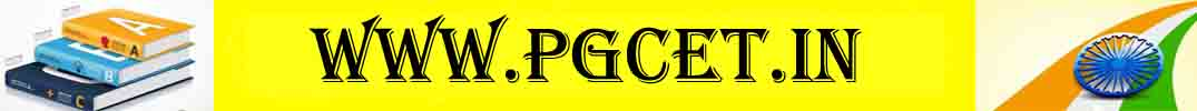 PGCET 2020 notification, PG entrance exam hall ticket, results