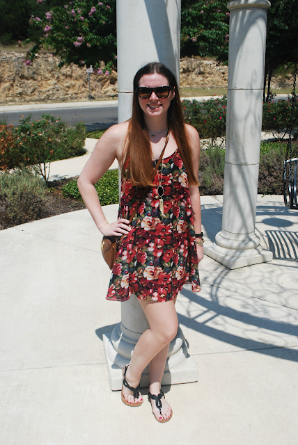 floral frenzy, floral dress