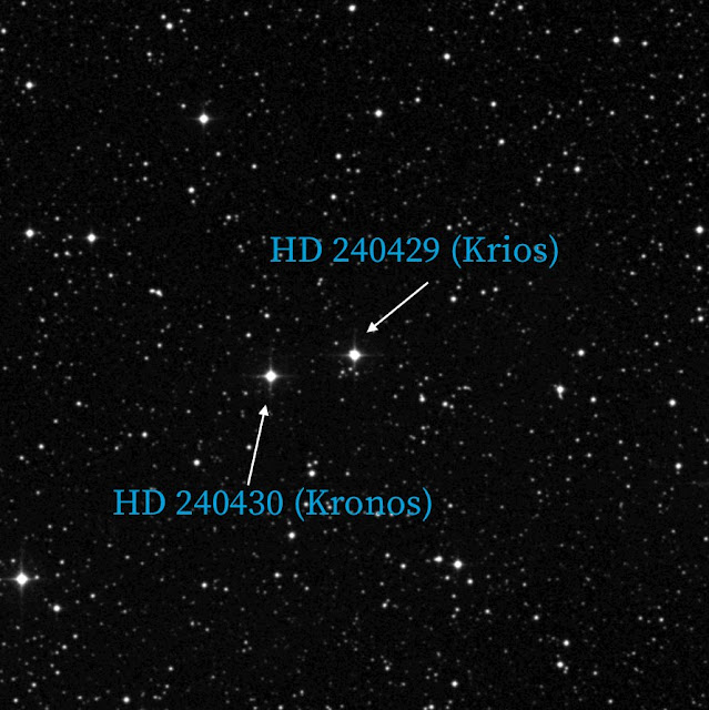 Devourer of planets? Astronomers dub star 'Kronos'
