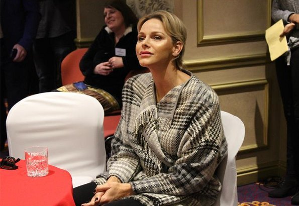 Princess Charlene of Monaco is currently in Johannesburg city of South Africa to attend the Mandela Day 2018