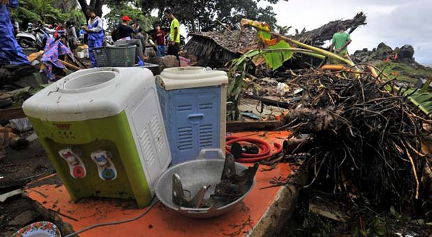 Trauma Tsunami Masih Dirasakan Warga Pesisir Pantai Pandeglang