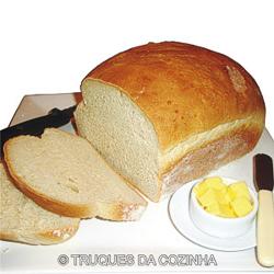 Massa de pão caseiro simples