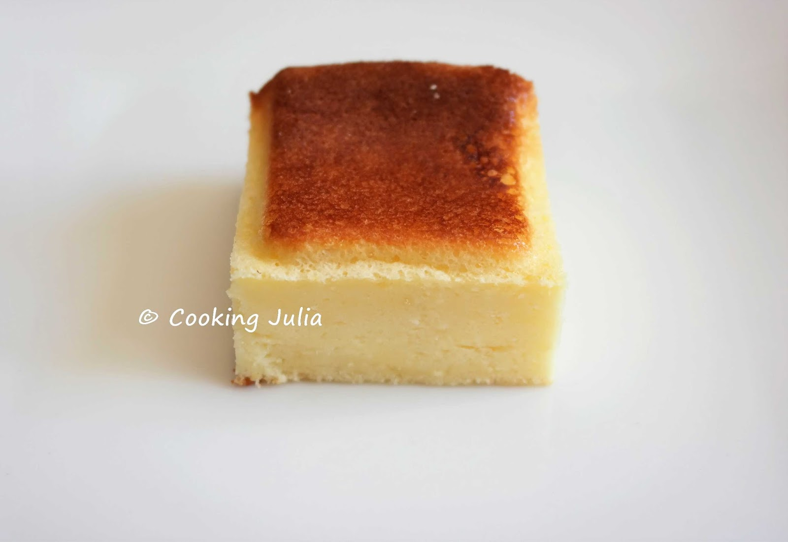 Cooking Julia Gateau Leger Au Fromage Blanc