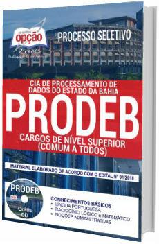 Apostila Concurso PREDEB BA 2018