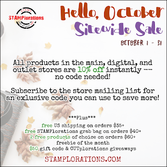 October Sitewide Sale