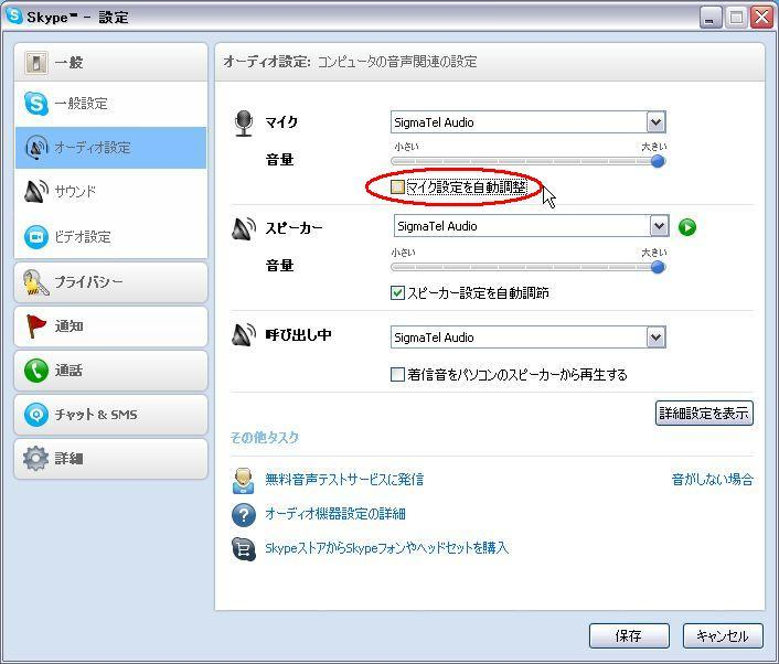 Skypeで外部マイクを認識しない【Windows XP】 - ブログという