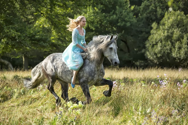 First look at Lily James in Disney's Live-Action CINDERELLA