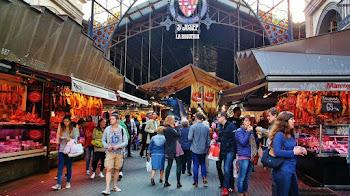 El mercado de la Boqueria - Ramblas de Barcelona