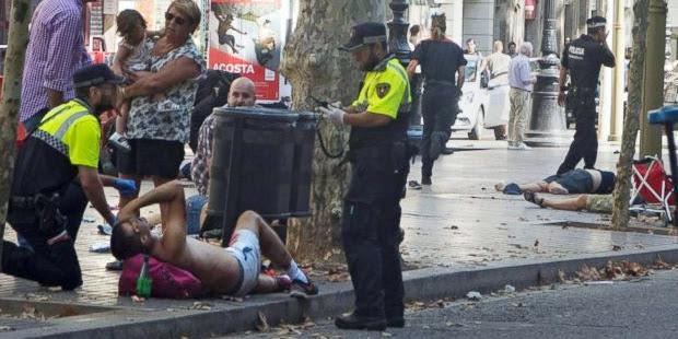 Media Spanyol Laporkan Ada 13 Orang Tewas Dalam Teror Barcelona