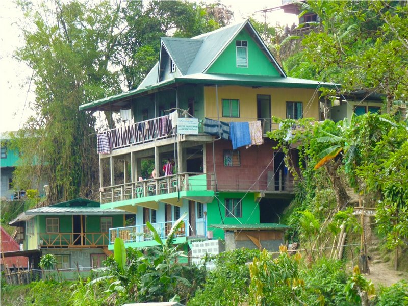 PHILIPPINES : Hillside Inn à Batad / www.by-laura.fr