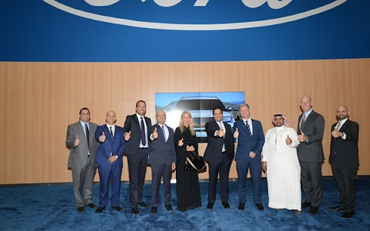Ford opens the world's largest showroom in Saudi Arabia